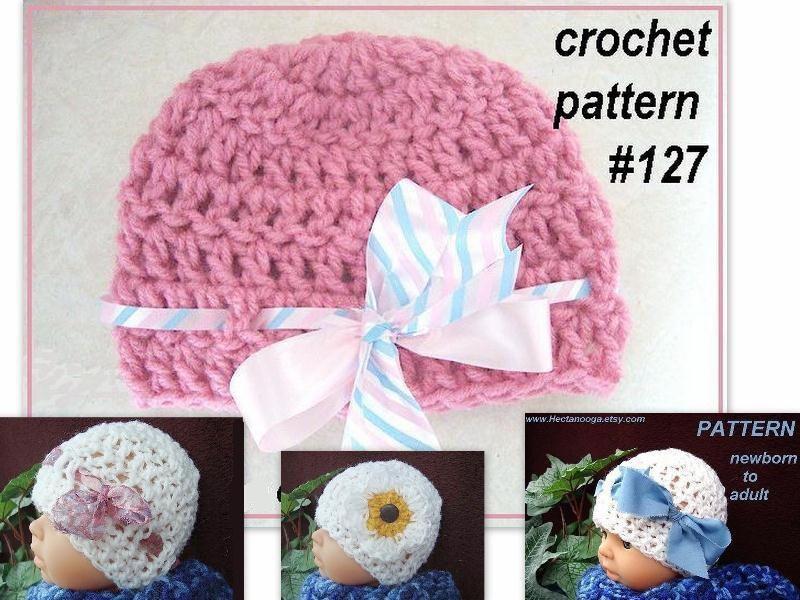Free Crochet Pattern: Basic Preemie Hat - Crochet Spot - Crochet