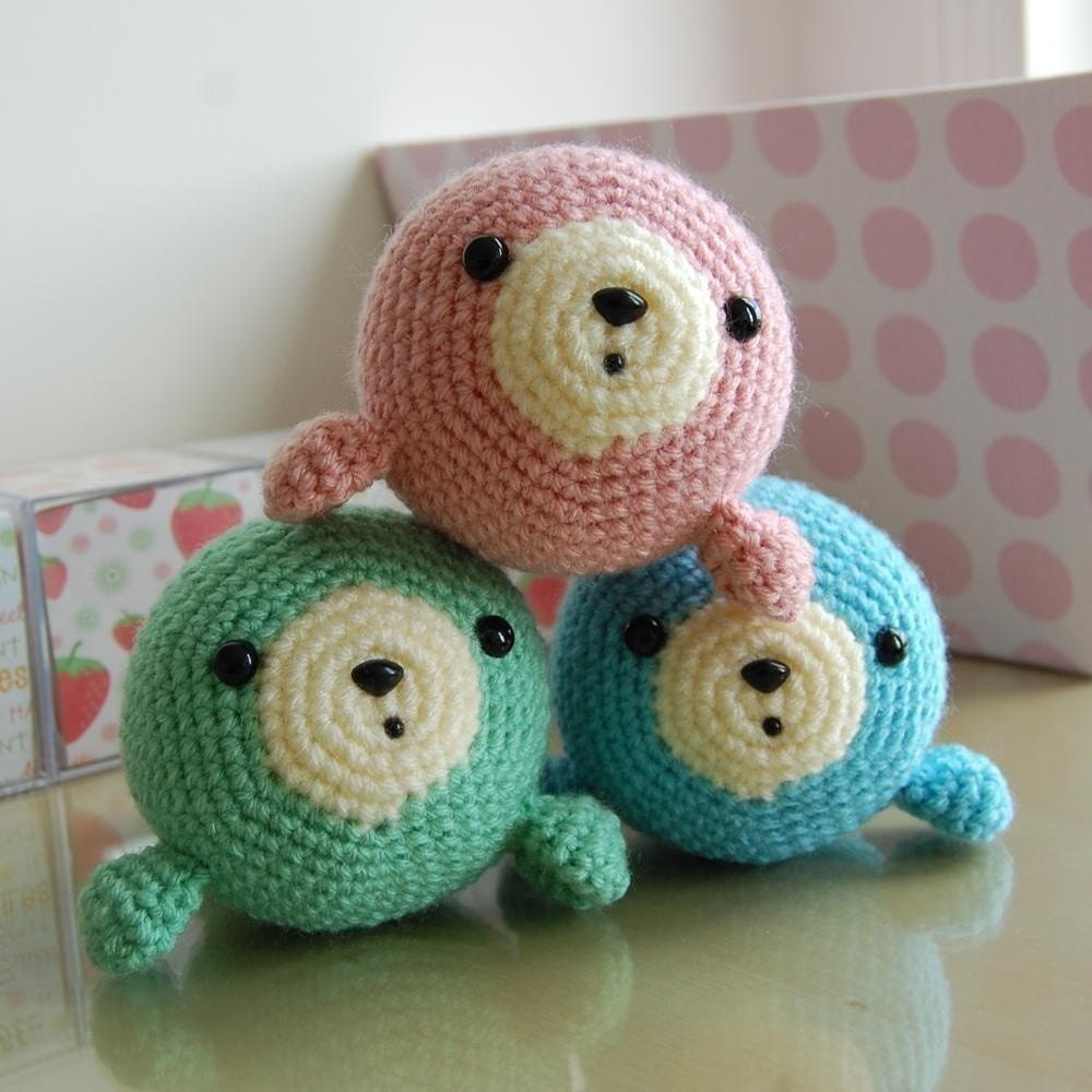Stitch Amigurumi Crochet Pattern : Little Seal Gurumi Crochet Pattern by LuvlyGurumi on Etsy