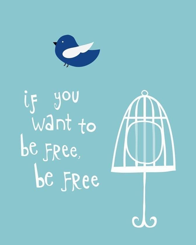 Be Free - 8x10