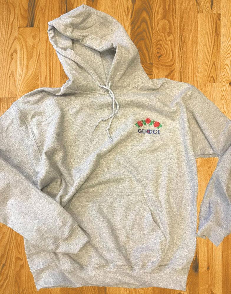 Ava Nirui Gucci Champion Design Grey Hoodie Hoody Sweatshirt  avanope