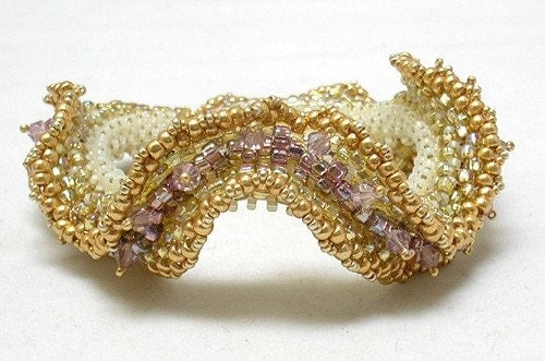 beaded bracelet tutorial. Beaded Bracelet - TUTORIAL