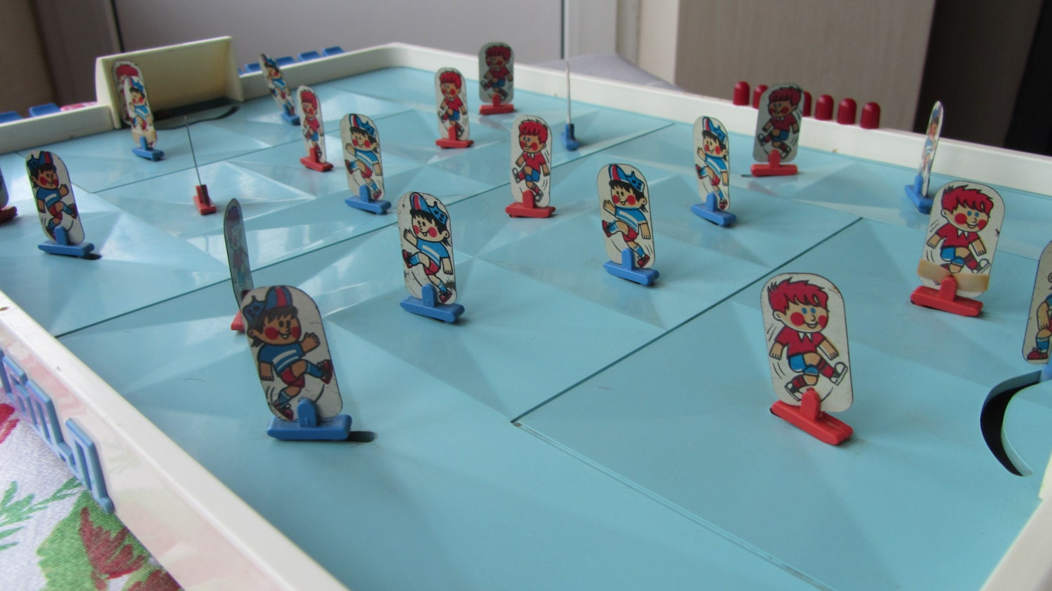 Big Table Soccer Board Game from Soviet Union Era, Game room gift, Football fan