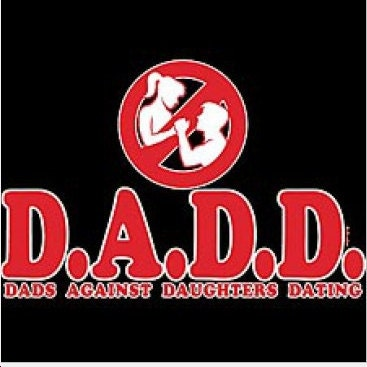 Dadd dads against daughters dating t shirt