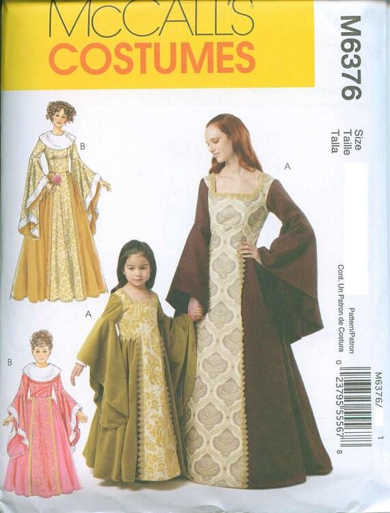 Simple Renaissance Dress Patterns Misses Renaissance DressSimple Renaissance Patterns