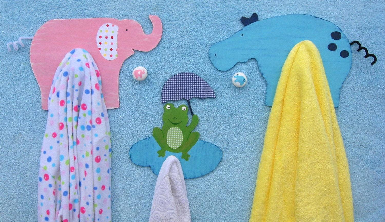 Дерево Mural ванной полотенце Крючки тщеславия Ручки Тейлор Дети Керамика Barn Вдохновленный экологию по Storytime АРТ