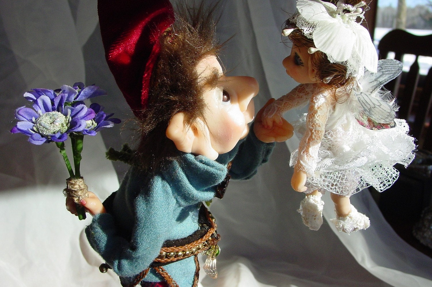 Gnomes and Fairies Gnome and Fairy Title How Do You Do
