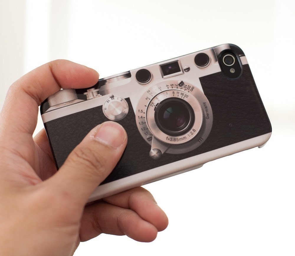 Leica iiif iphone case by Chasmic Studio, 2011