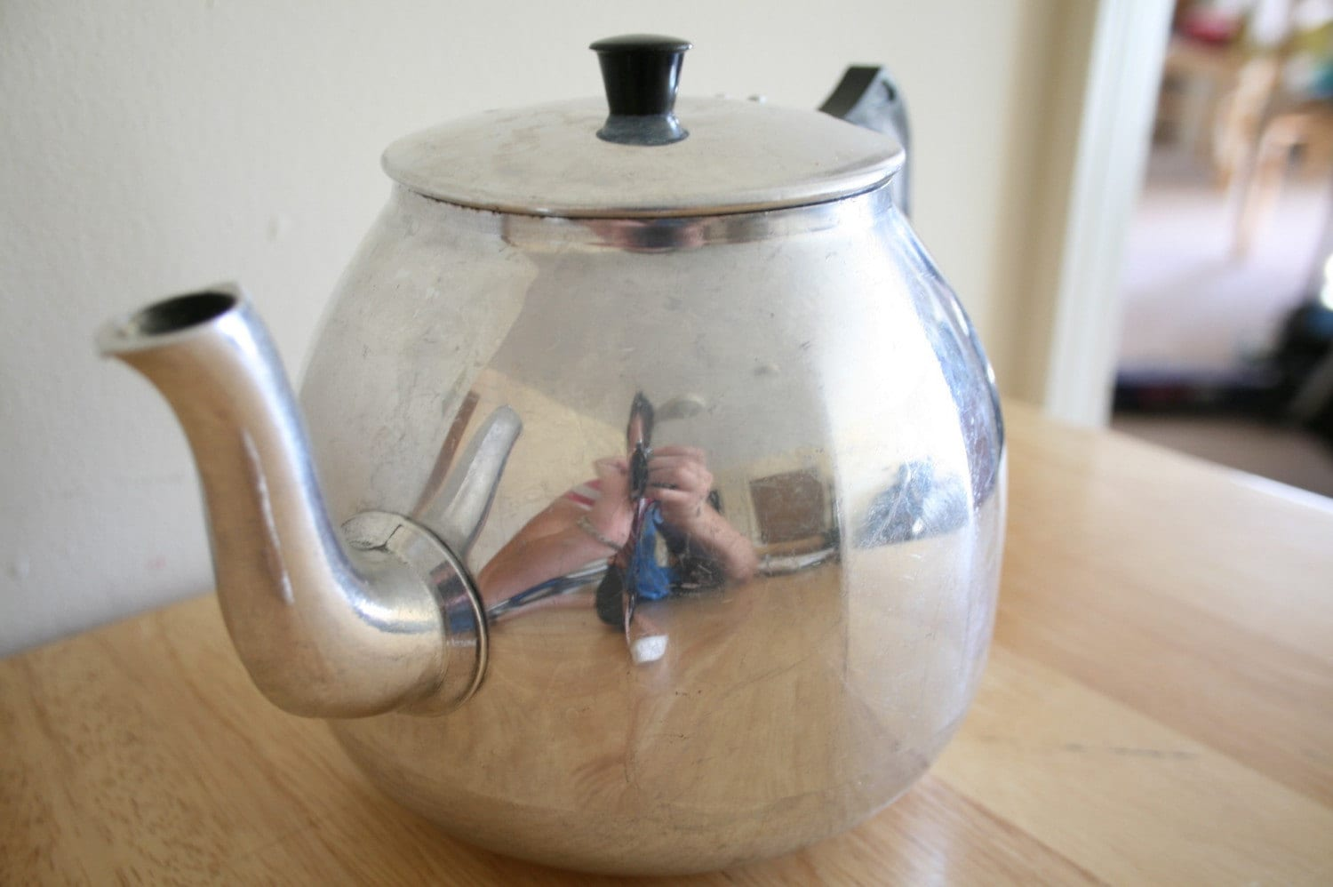 Metal Tea Pot made in Republic of Ireland