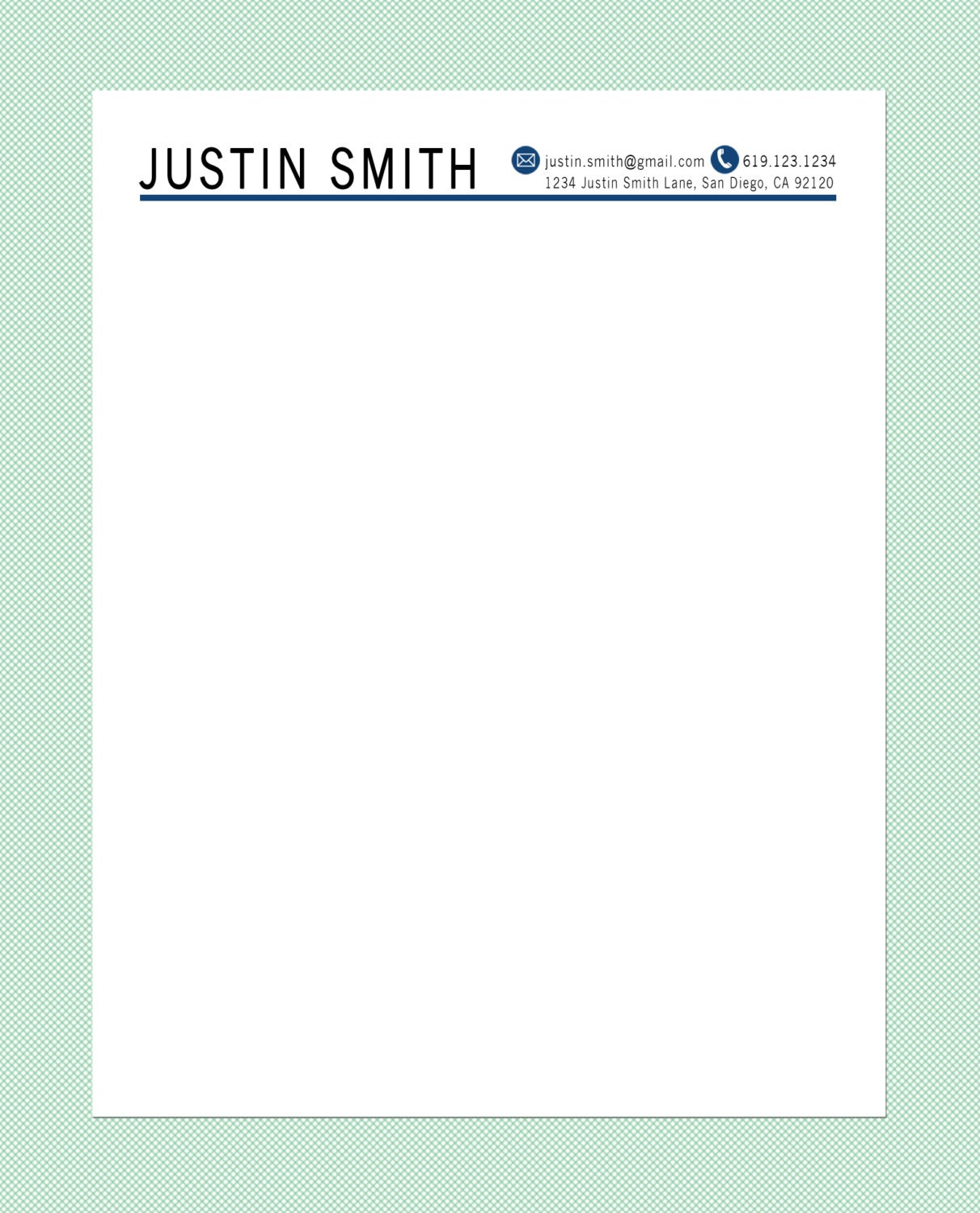 Doc.#7681087: Letterhead Cover Letter – Cover letter with ...