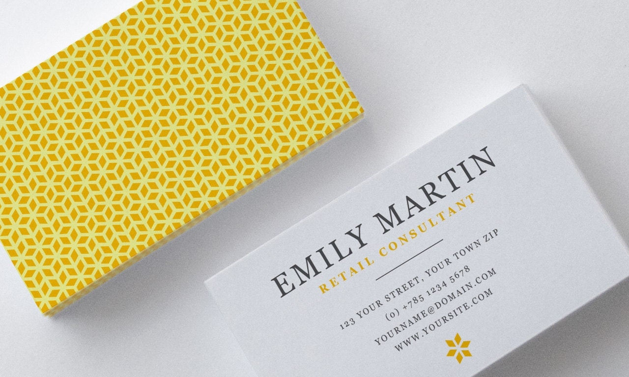 Two Sided Business Card Template Word