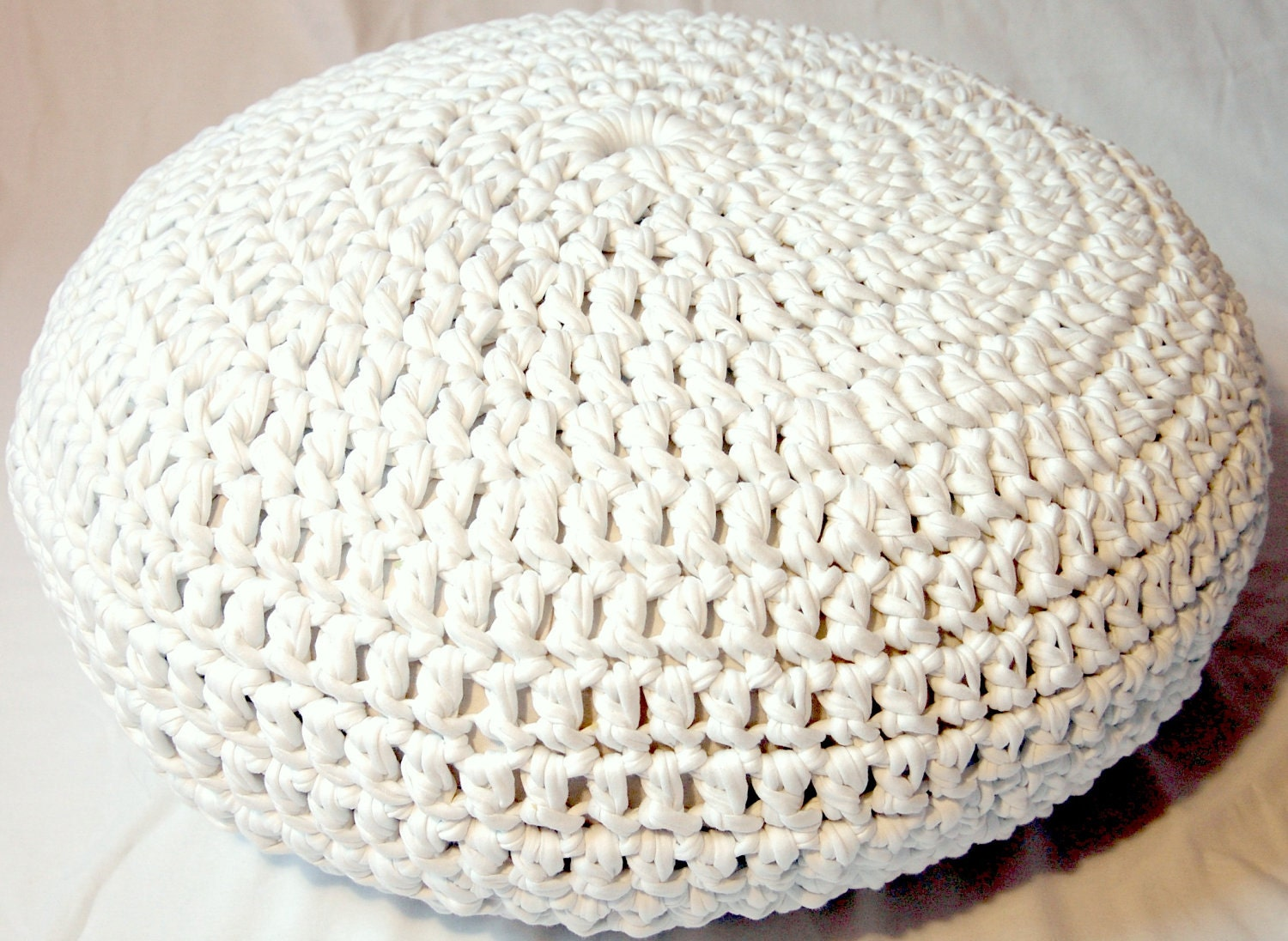 crochet pouf pattern pdf by kitsdiezijn on Etsy