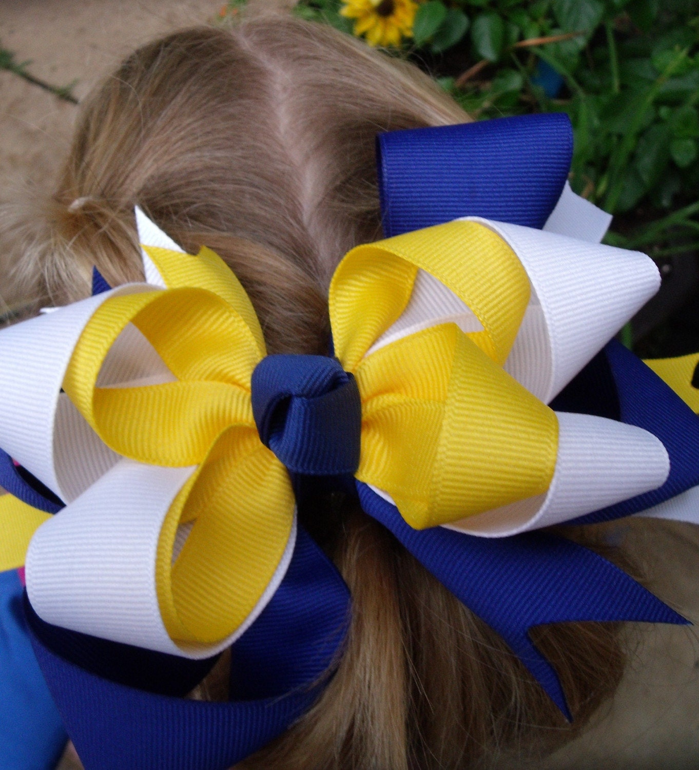 Wren Hurricanes Girl's Hairbow FREE SHIPPING