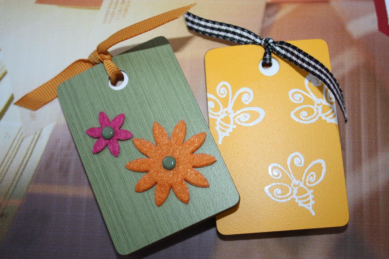 Upcycled Mini Notebooks - Set of 2