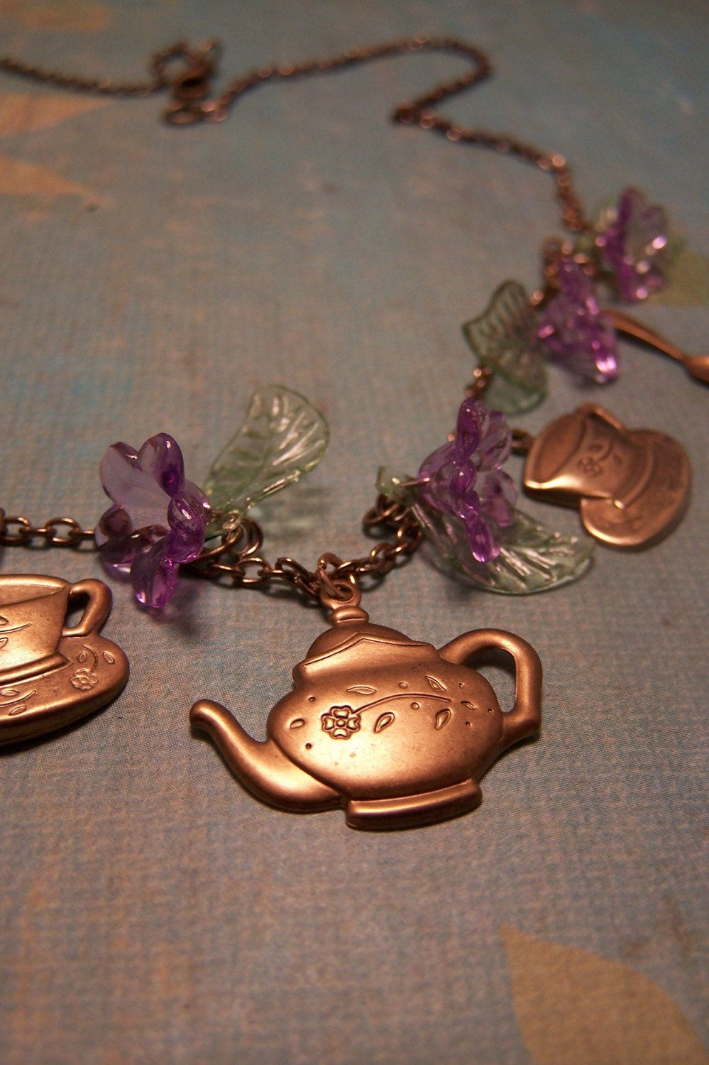Handmade Tea Party Necklace