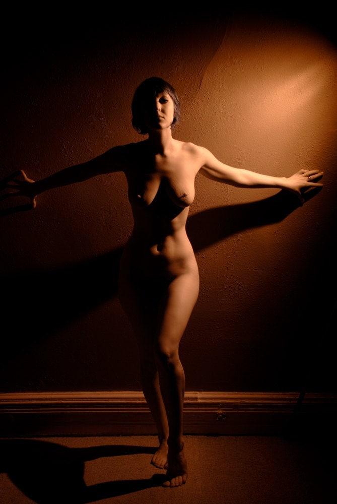 Art photography of nude woman