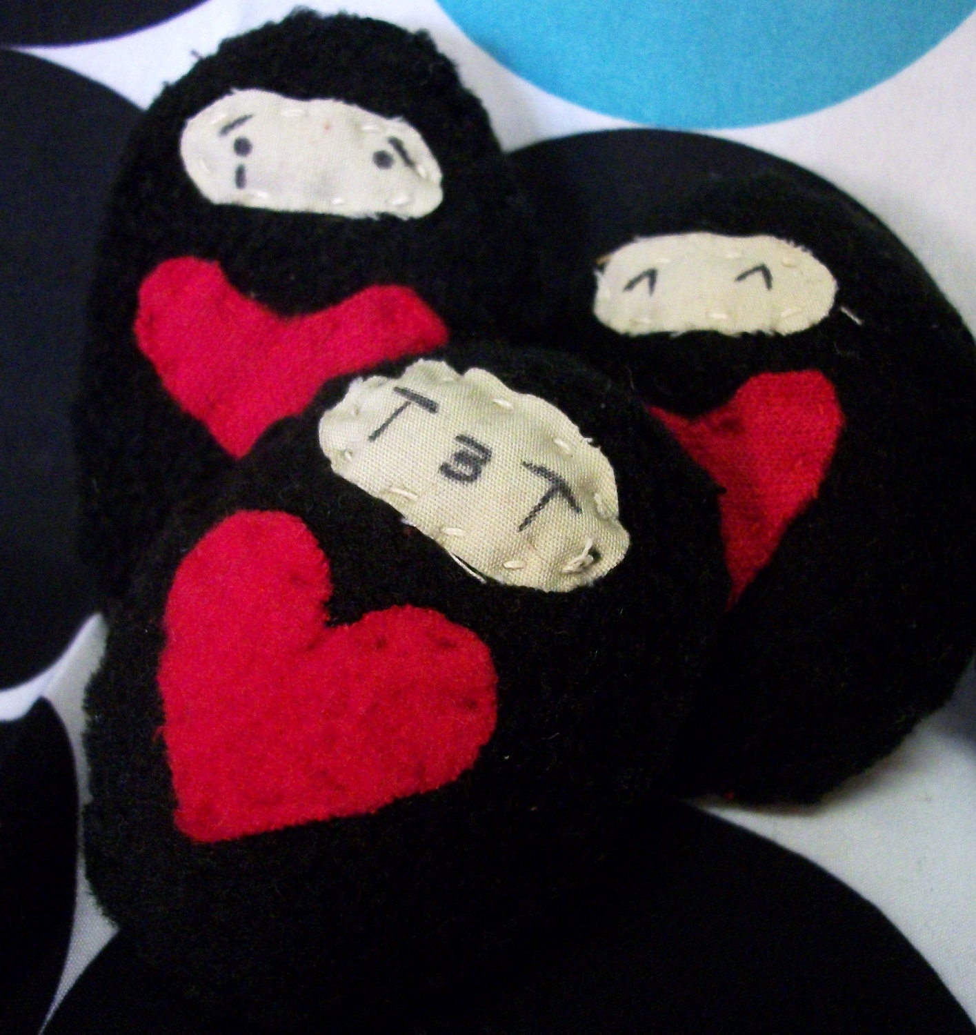 Flip kicking Ninja pocket plush toys