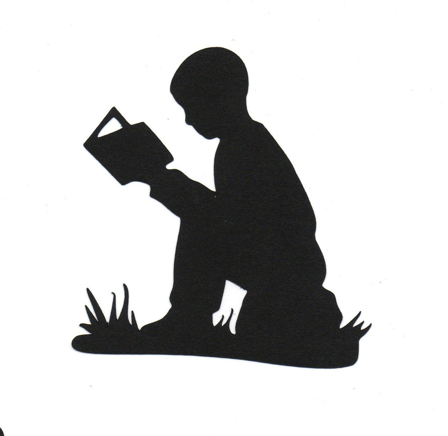 Child Reading Silhouette Images & Pictures - Becuo Children Reading Silhouette