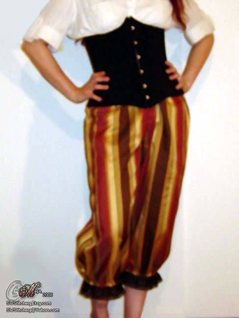 Medium - Carnivale Striped Bloomers