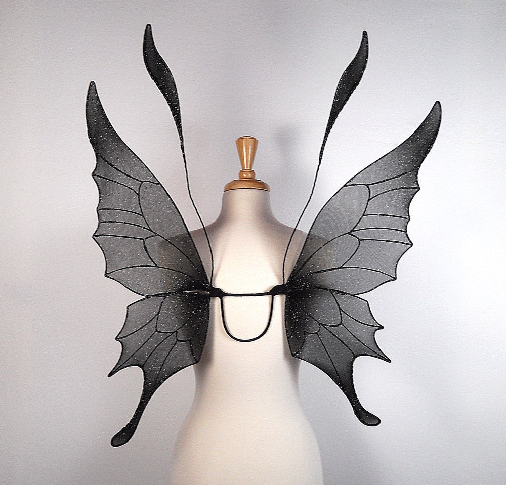 Fairy Wings Ideal for dark fairy costume by OnGossamerWings