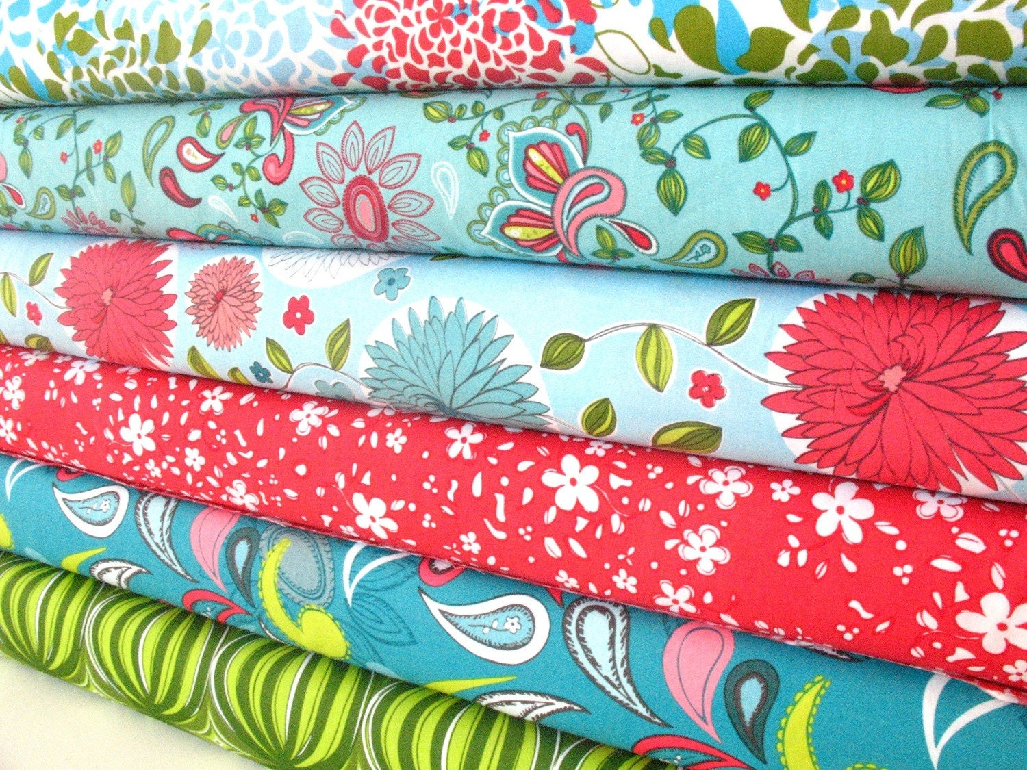 Anthology Fabrics, High Society, Set in Hannah, 6 half yards