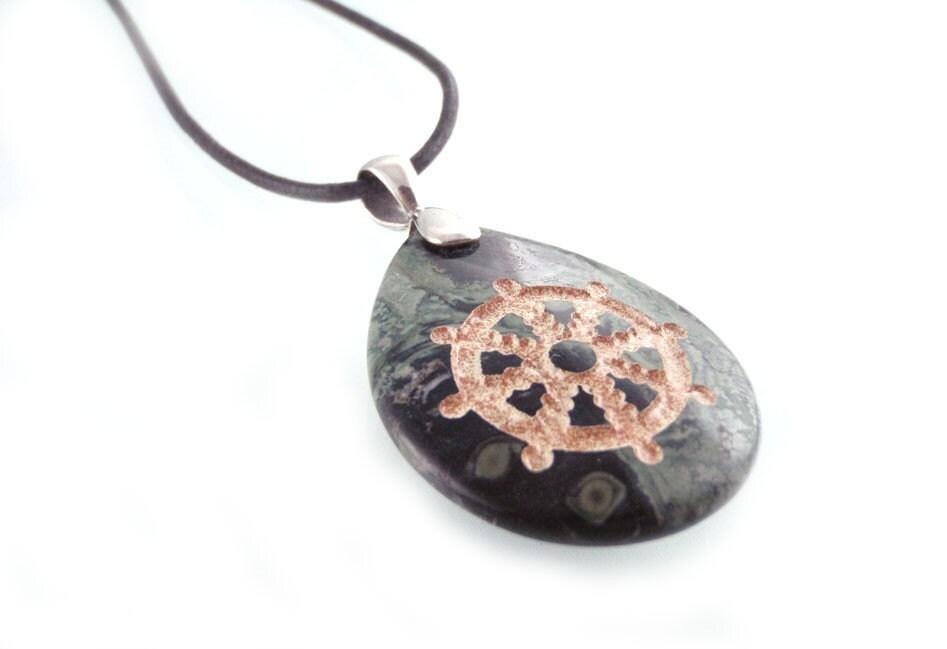 dharmachakra pendant