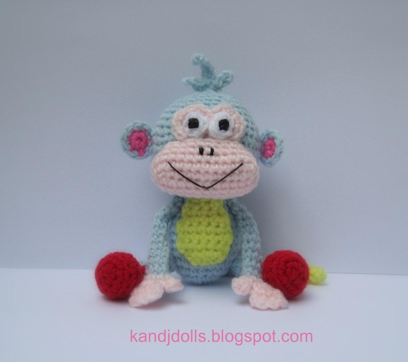 Dora the Explorer Doll - PDF Crochet Pattern - Pinterest