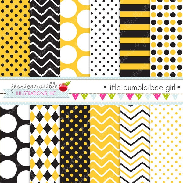 ... and Commercial Use, Bumble Bee Patterns Bumble Bee Backgrounds