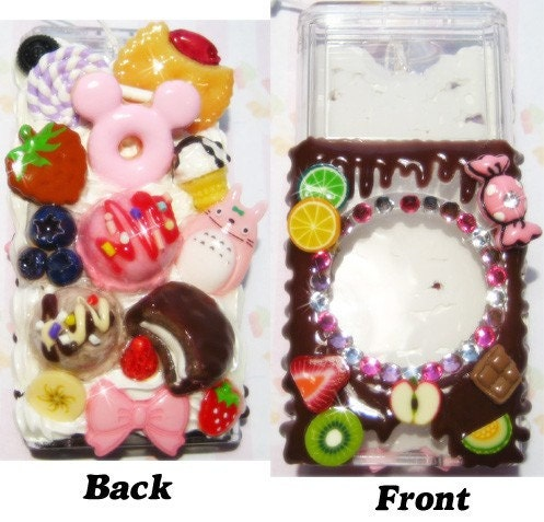 iPod Nano 2G case with sweets decoration