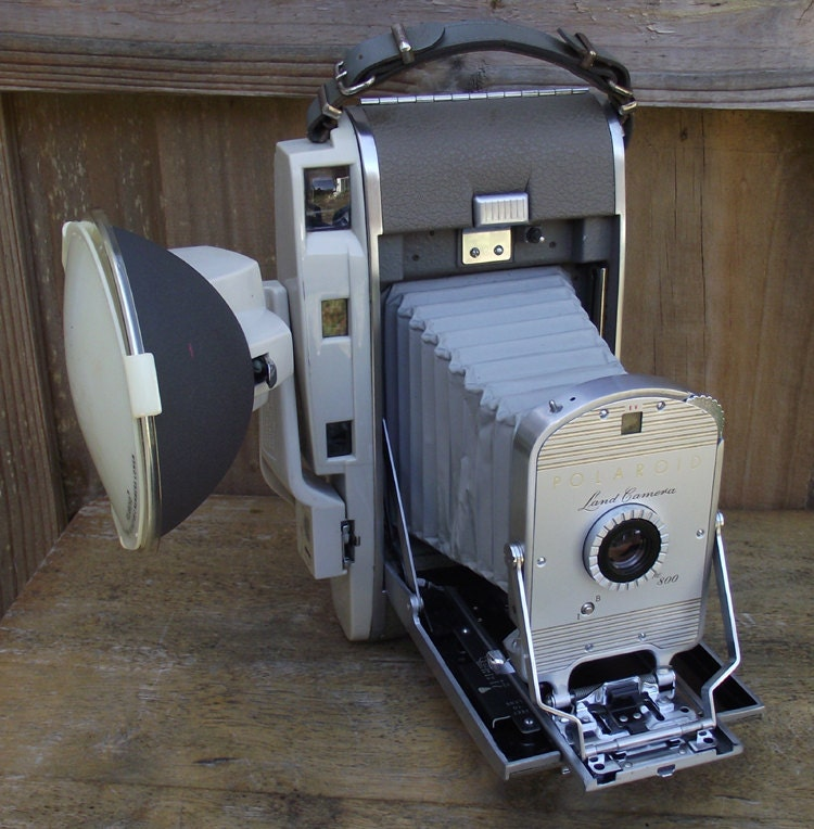 Polaroid 800 Presentation Set Vintage 1950s