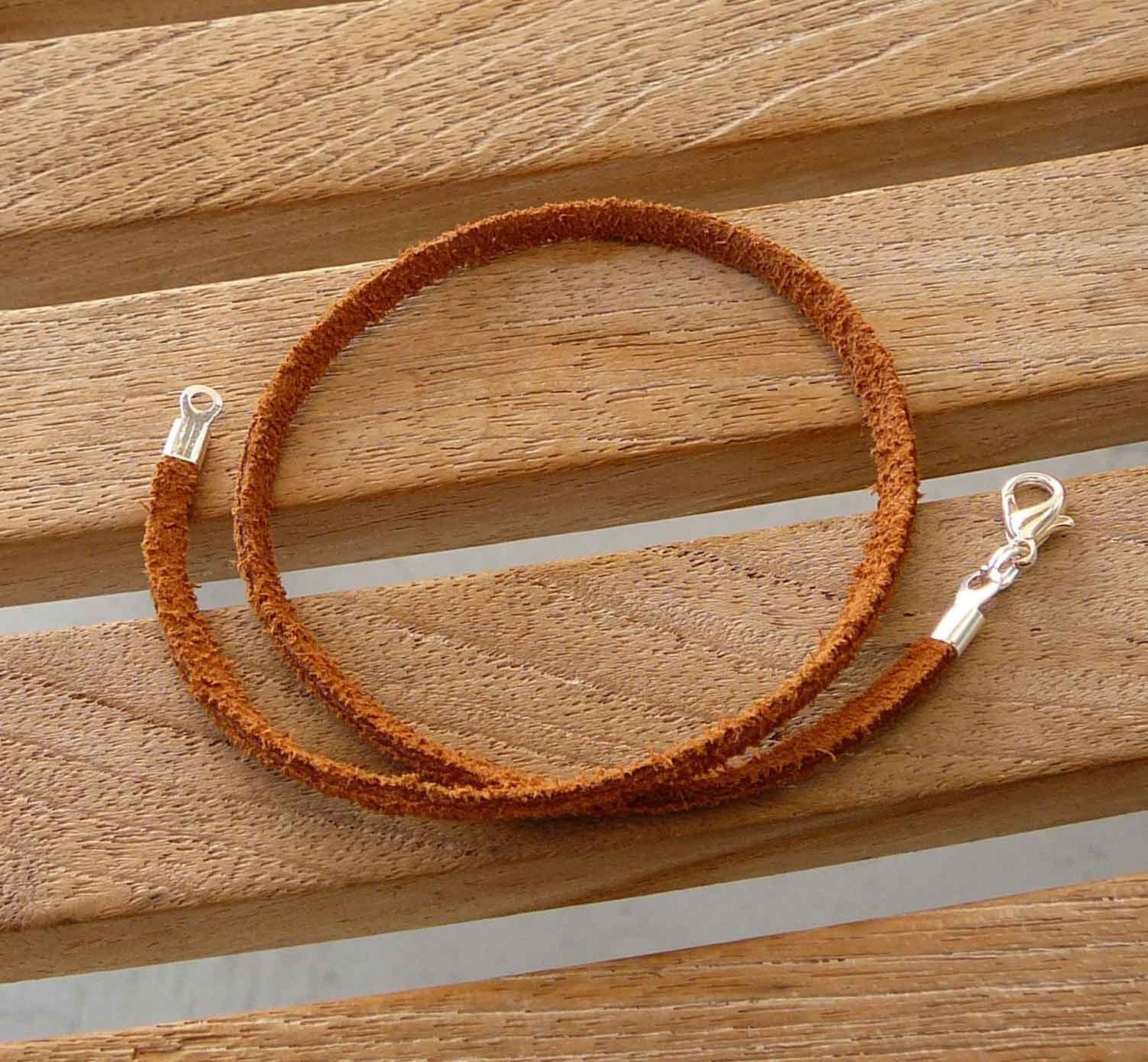 20 Real Suede Necklace Cords - Any length - Handmade in USA