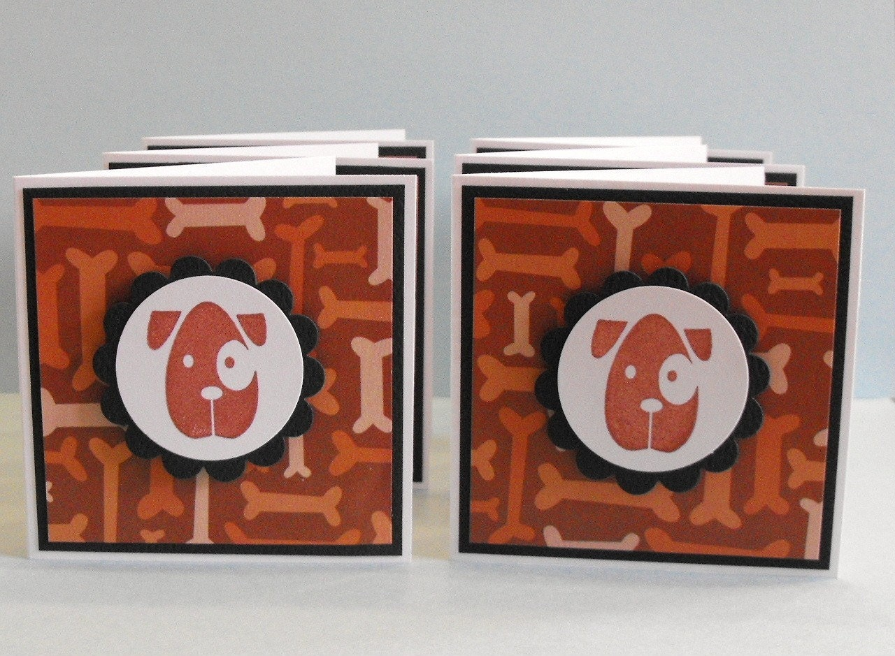 Dog Mini Note Cards set of 6