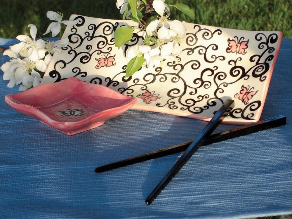 Etsy :: Spring Fling Platter from etsy.com