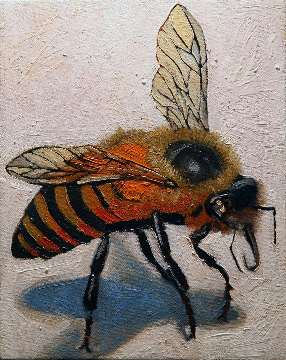Yellow Bee - Whitneypaintings