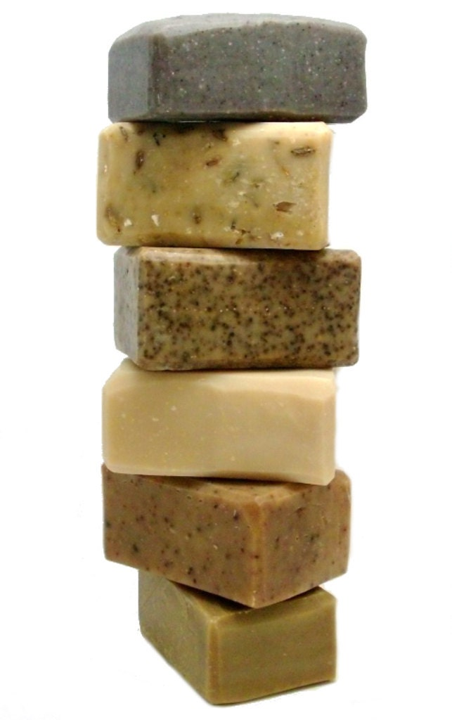 Goat Milk Soap - FLORAL VETYVER - 4 oz. bar handmade - MeadowflyFarm