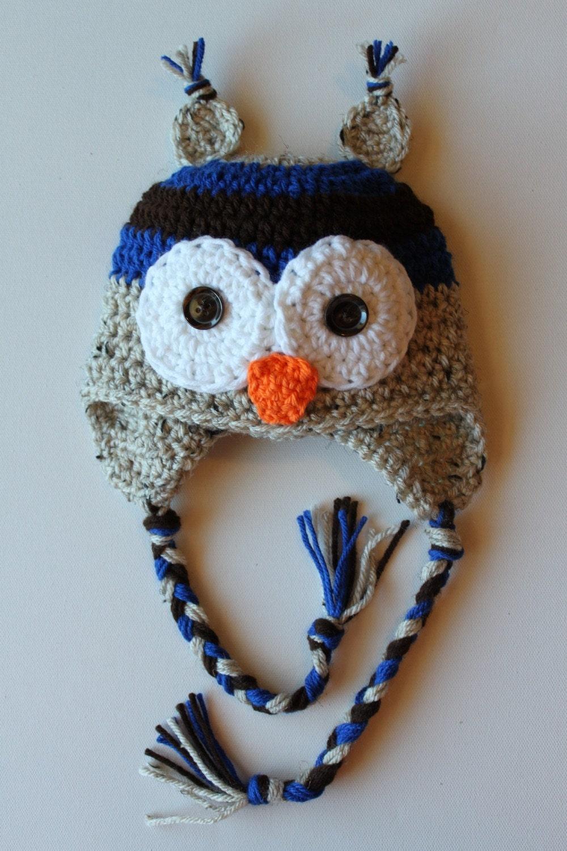 Etsy Owl Hat