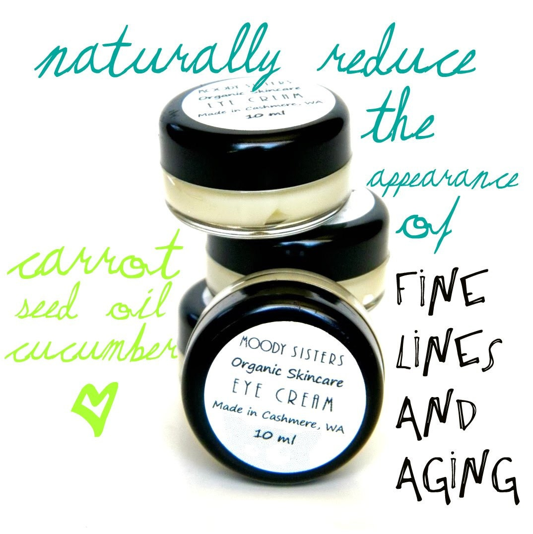 Eye Cream & Cuticle Cream- Soothing with cucumber extract and carrot seed oil - (Safe near sensitive eyes)