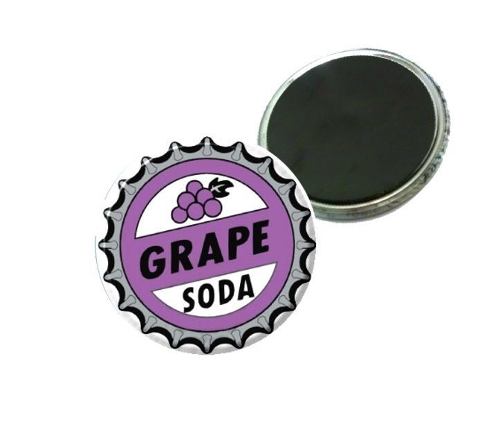 Magnet - Disney Pixars UP Grape Soda Bottle Cap Image