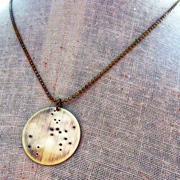 sagittarius necklace constellation jewelry by