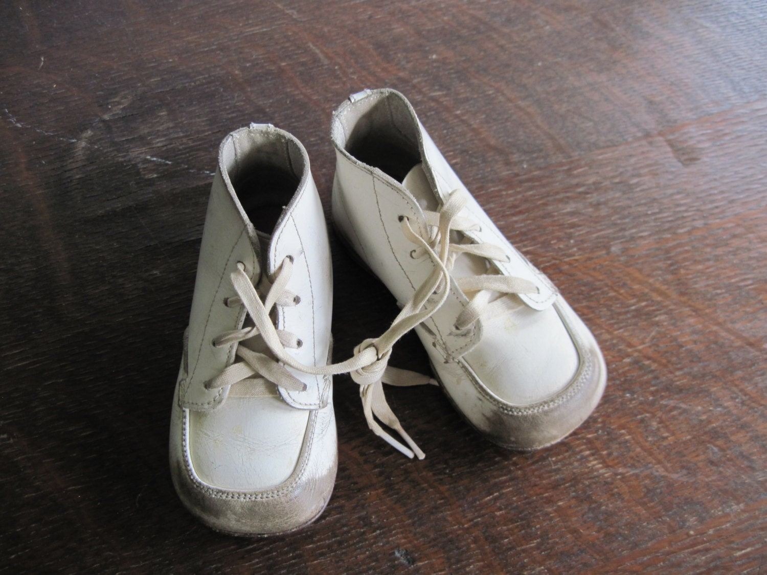 vintage stride rite high top baby toddler by rushcreekvintage