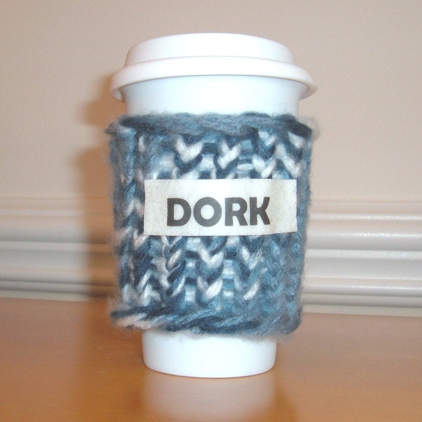 Enviro-Friendly Coffee Cozy - DORK