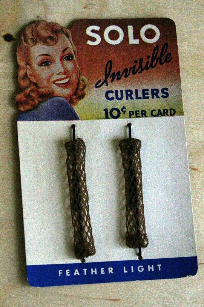 vintage curlers