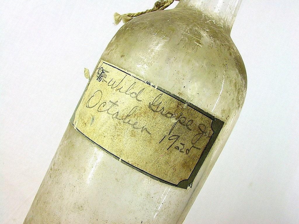 Boldt Tall Moderately Slender Bodied Straight Neck Spirits Cylinder Vintage Cylinder One Quart Glass Bottle