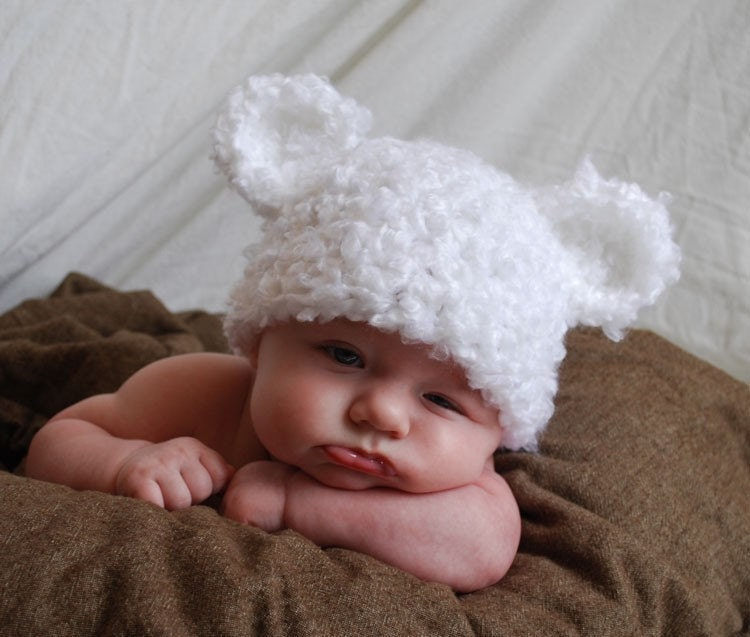 Cute Baby Hat by