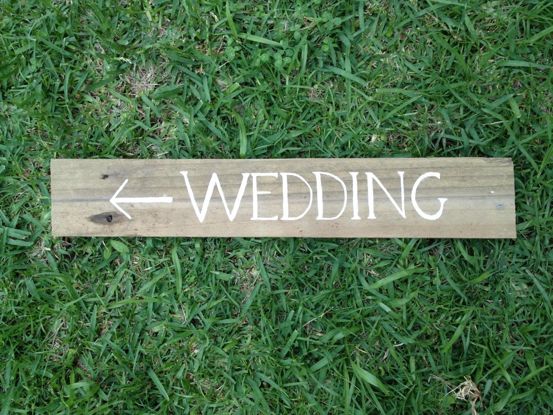 Wedding Vintage Timber Wooden Sign Wedding By WavesAndWeddings