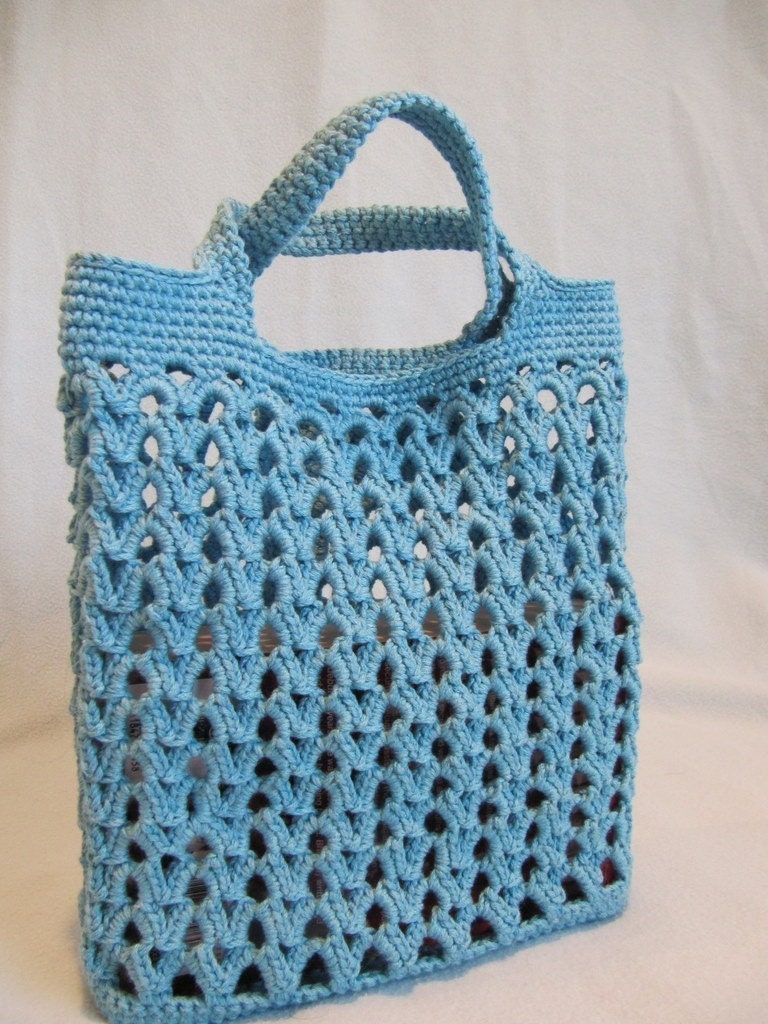 Beach Bag Crochet : CROCHET BEACH BAG - Crochet - Learn How to Crochet