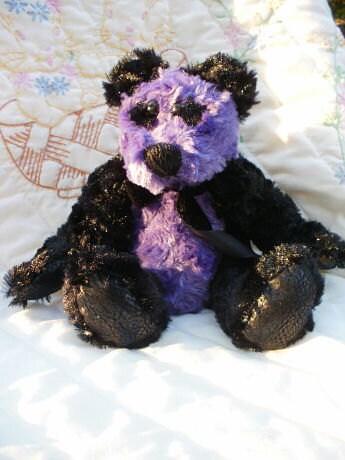 Punky Panda-punk rock bear