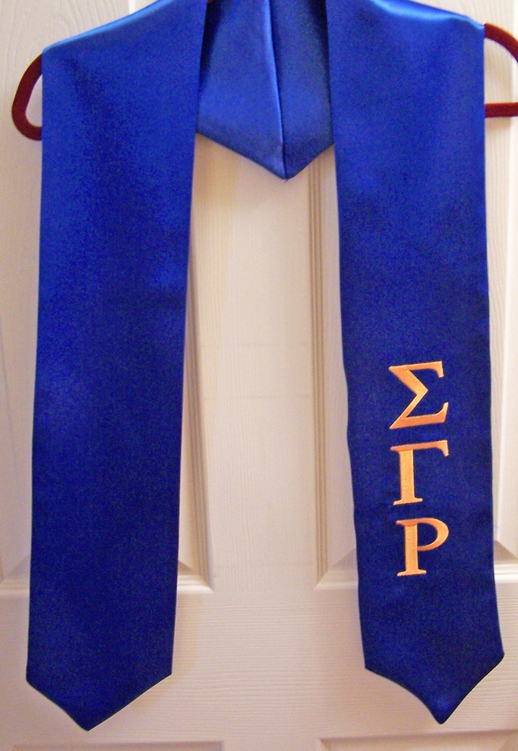 sigma gamma rho greek letter embroidered satin by With greek letter stoles