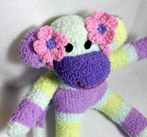 Ear bows for your sock monkey