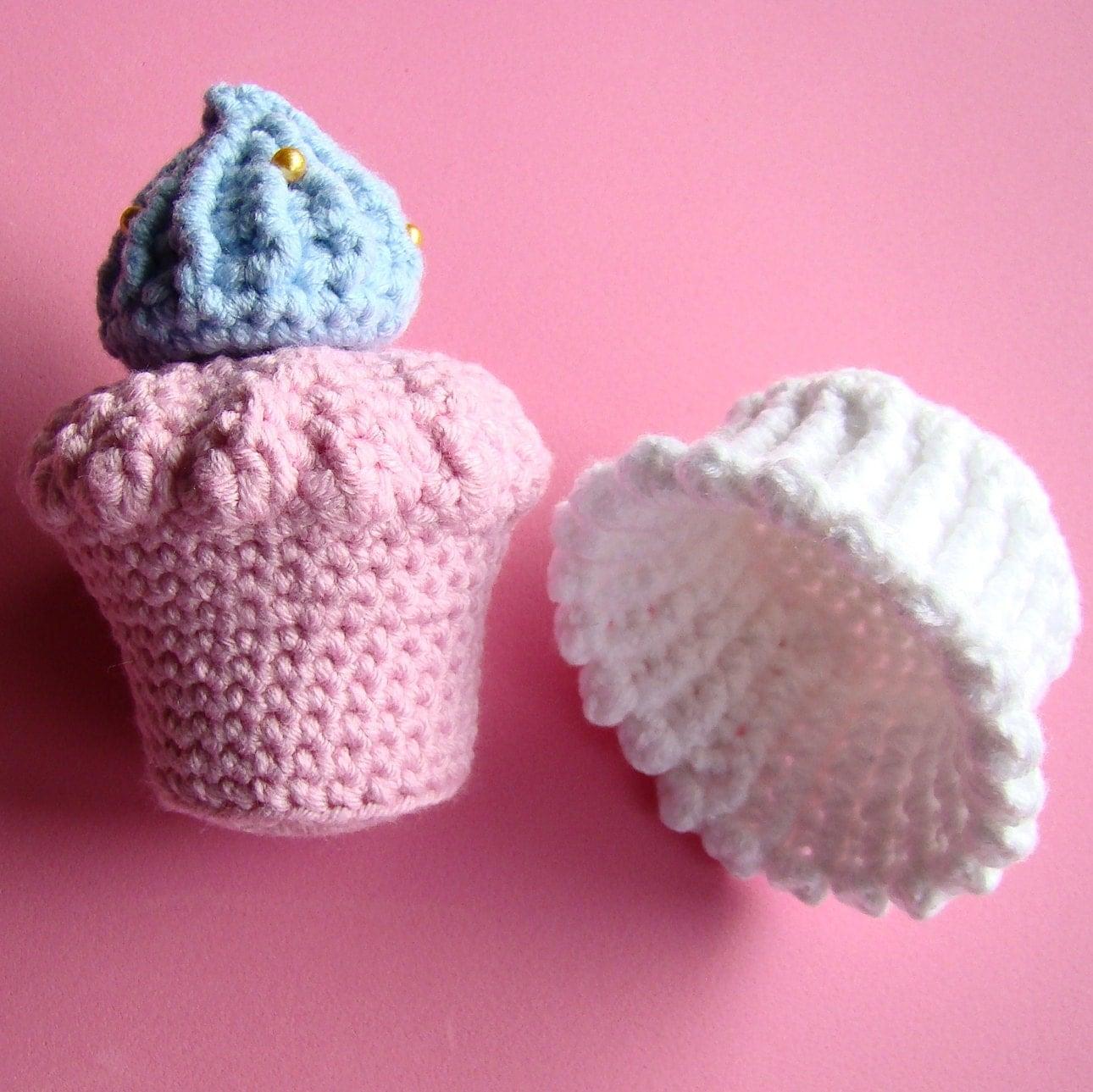 AMIGURUMI CUPCAKE by Amiguria - PDF of crochet pattern ...