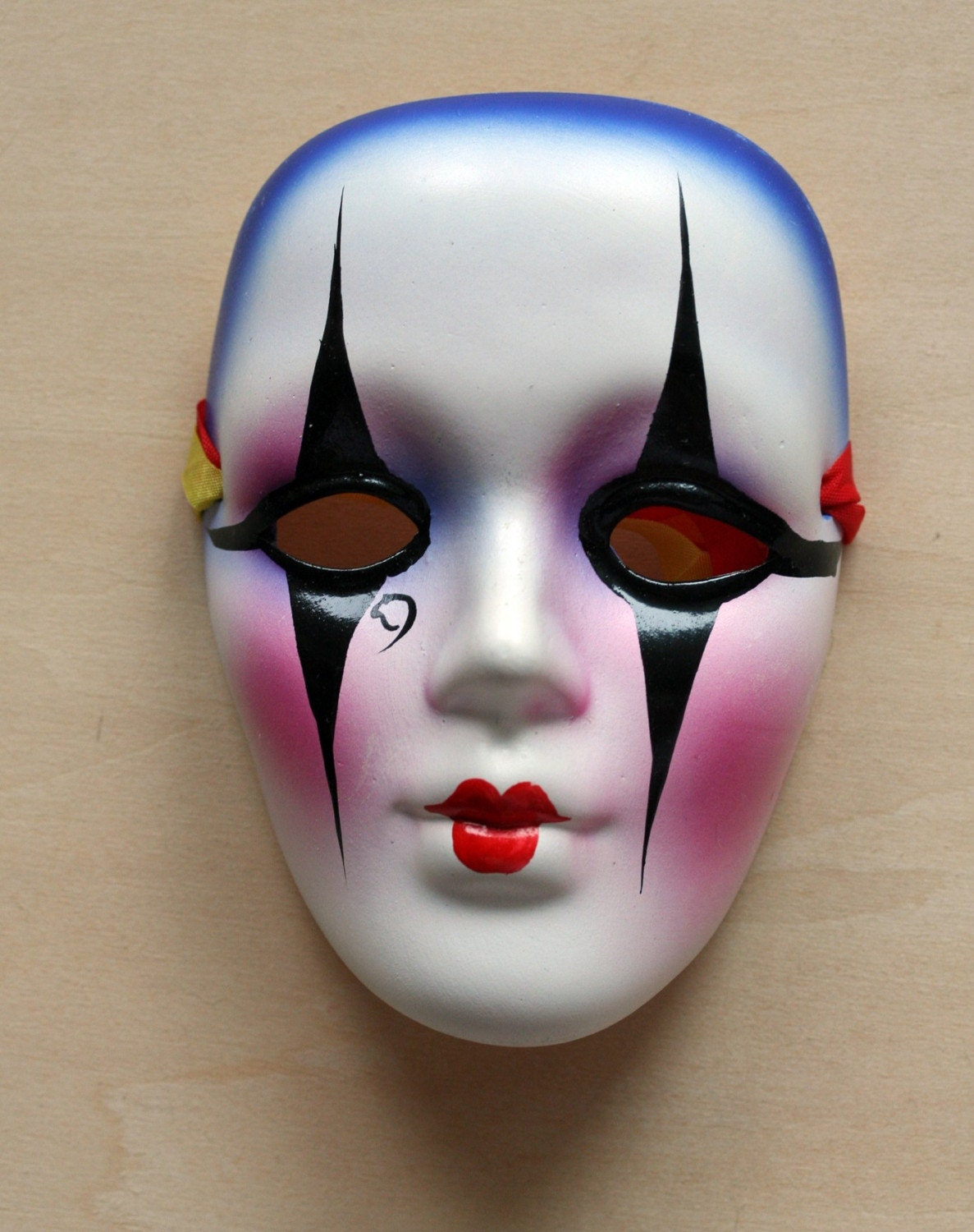 masquerade eye makeup. Doll Mask With Eye Makeup
